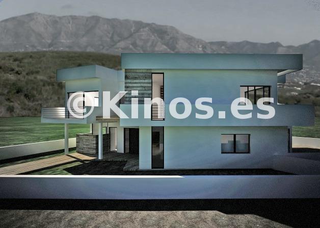 Large villa mijas fachada kinosgroup