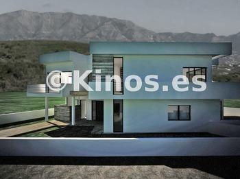 Medium villa mijas fachada kinosgroup