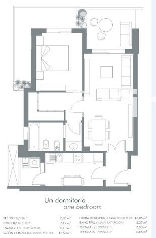 Large plano 1 dormitorio