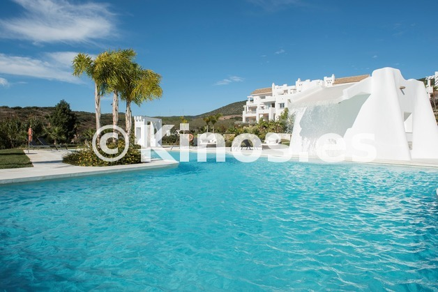 Large vista piscina