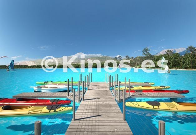 Large el lago
