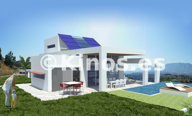 Large greenvillage villa1 2