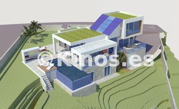 Large greenvillage villa1 4