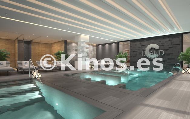 Large spa