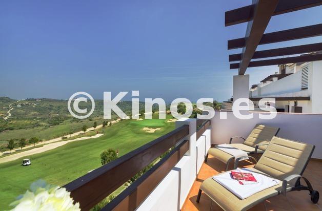 Large terraza vistas