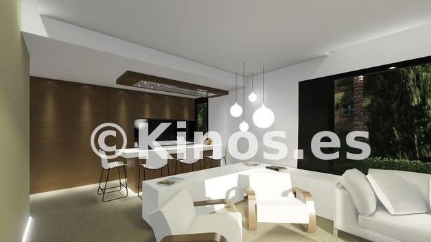 Large cocina salon