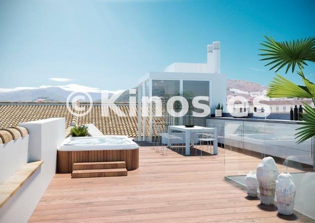 Large apartamento malaga terraza kinosgroup