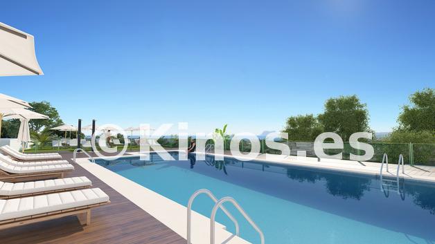 Large manilva exterior piscina