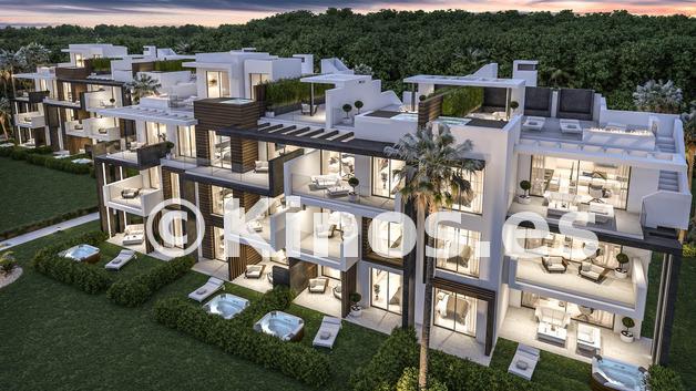 Large luxury apartments for sale estepona marbella boladilla 4