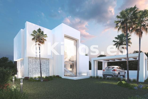 Large modern villas for sale mijas mediterranean hills 2