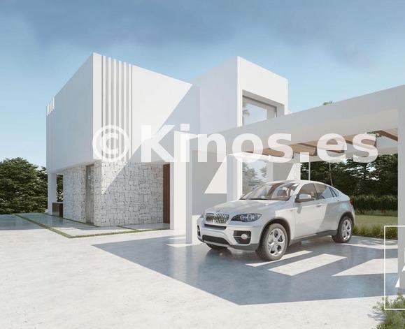 Large modern villas for sale mijas mediterranean hills 4