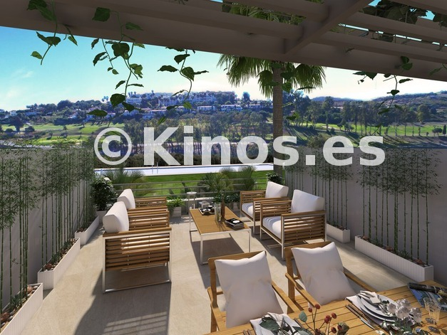 Large a7 green golf townhouses estepona terrace preview