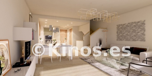 Large b2 green golf townhouses estepona salon preview