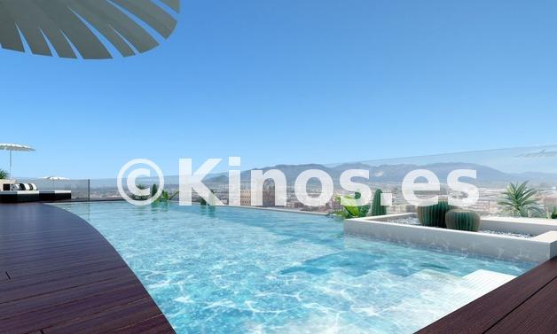 Large piscina