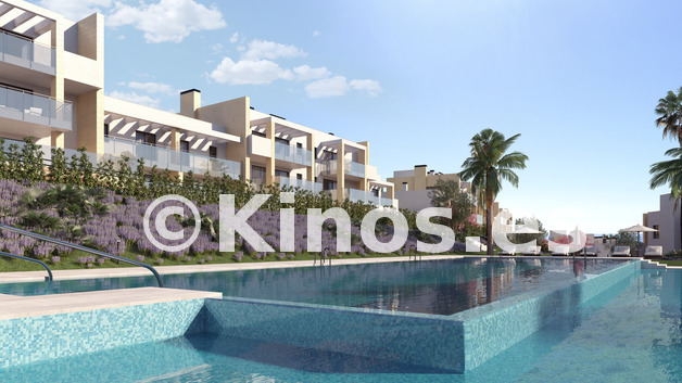 Large neinor homes   casares homes cam 02 piscina esquina