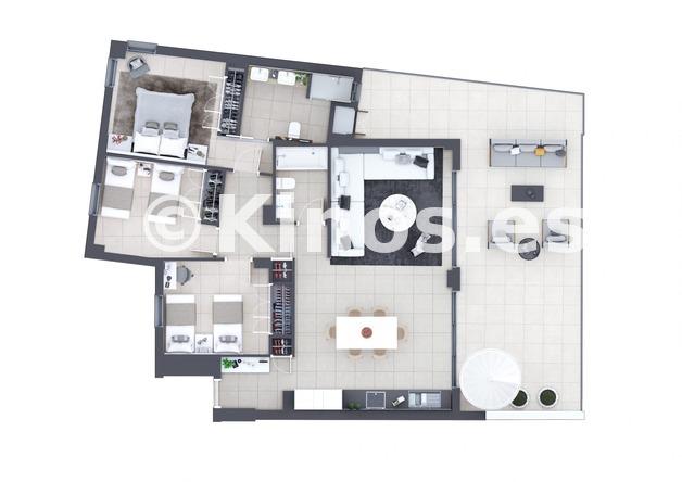 Large manilva 2 plano 3 dormitorios 1980x1399