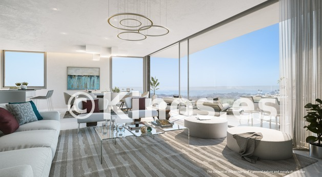 Large one residences   living room disclaimer