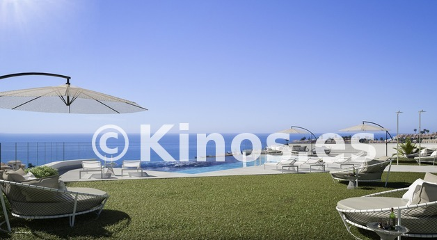 Large 4 a piscina infinity sea views